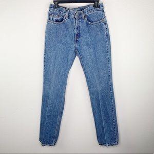 🔥 Vintage Levi's 505 Straight Leg Jeans F31
